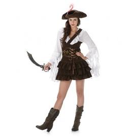 D�guisement Pirate Femme, Taille Medium