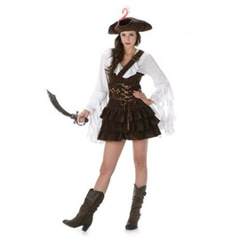 D�guisement Pirate Femme, Taille Large