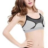 Nouveau Femmes Yoga Sportif Brassi�re Avec Coussinets Amovibles 6189