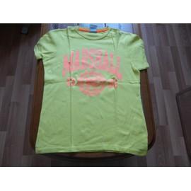 T-Shirt U.S. Marshall Coton M Jaune