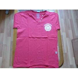 T-Shirt U.S. Marshall Coton M Rouge