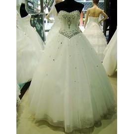 Robe De Mari�e Vivi Mariage Princesse Dentelle 38 Blanc