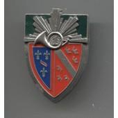 Militaria Insigne Pucelle 1er Bataillon De Chasseur / Arthus Bertrand Pour Les �ditions Atlas