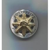 Militaria Insigne Pucelle 8�me R�giment D'artillerie Austerlitz / Arthus Bertrand Pour Les �ditions Atlas