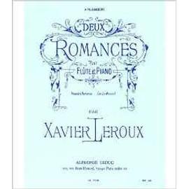 """première romance en la mineur pour flûte et piano (extrait de """"deux romances"""")"""