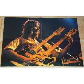 poster affiche magazine revue best MIKE RUTHERFORD GENESIS 59x44cm