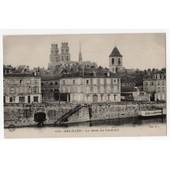 Carte Postale Ancienne. Orl�ans. Le Quai Du Chatelet. 45 Loiret.