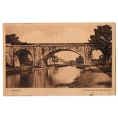 Carte Postale Ancienne. Briare. Le Pont Du Chemin De Fer. 45 Loiret.