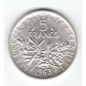 Piece 5 Francs Argent