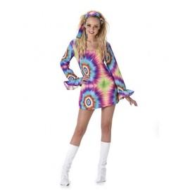 D�guisement Robe Hippie Psych�d�lique Femme, Taille Medium