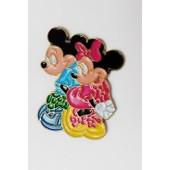Pin's Disney Mickey Et Minnie
