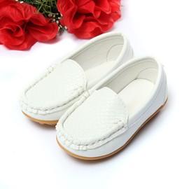 Mocassins Chaussons Enfants Gar�on Fille Cuir Souple Chaussures Sandales Sport