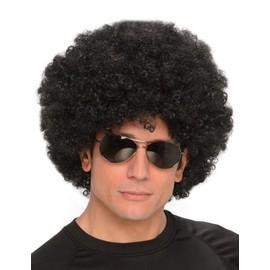 Perruque Afro Noire Homme,