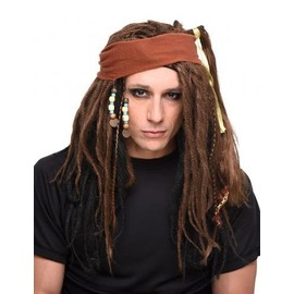 Perruque Pirate Homme,