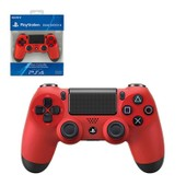 Manette Pad Officiel Sony Playstation 4 Ps4 Dual Shock 4 Wireless Sans Fil, Rouge