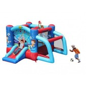 Ch�teau Gonflable Jumping Stade Ii - L310 X H175 X L300 Cm - 6 Fonctions