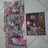 Lot De 3 Album Monster High+Album Autocollant