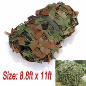 Filet Camouflage Arm�e Camping Militaire Chasse Couverture For�t Camouflable 2.7mx3.5m