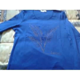 T-Shirt Armand Thiery Coton Taille 4 Bleu Roi
