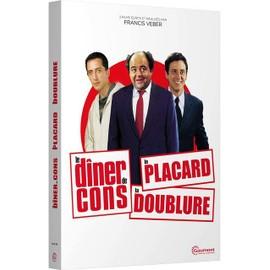 Image 3 Films Écrits Et Réalisés Par Francis Veber Le Dîner De Cons + Le Placard + La Doublure