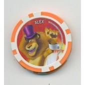 Jeton De Poker ,Publicitaire :Cora 1 Alex Madagascar
