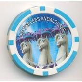 Jeton De Poker ,Publicitaire : Cora 11 Triples Andalouses Madagascar