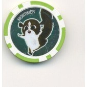 Jeton De Poker ,Publicitaire :19 Mortimer Cora Madagascar