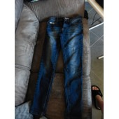 Jean Creeks Coton 14 Ans Bleu Fillle