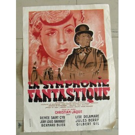 Affiche Propagande De Guerre Reproduction: La Symphonie Fantastique ,Cinema