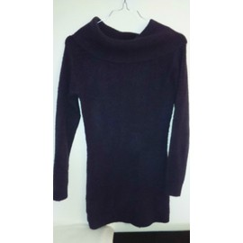 Pull Femme Taille L (42) Prune, Occasion