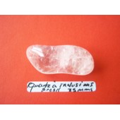 Pierre Polie Semi-Pr�cieuse (Quartz � Inclusions)