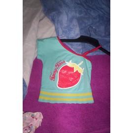 T-Shirt Tissaia Coton 3 Ans Bleu