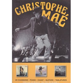 Christophe Mae best of - partitions Piano chant Guitare tab