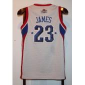 Maillot Trikot Jersey Nba Basketball Lebron James All Star Xs
