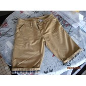 Short D Skins Coupe Chino Bermuda Fr 38 Us 28-29 Camel