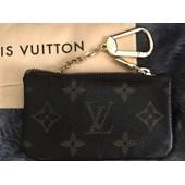 Porte-Cl�s Louis Vuitton Pochette Cl�s Clefs Clef Cl� Toile Monogram Porte-Clefs Monnaie
