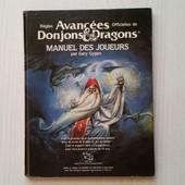 R�gles Avanc�es Officielles Donjons Et Dragons -Manuel Des Joueurs de Gary GYGAX