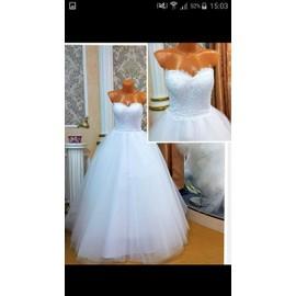 Robe De Mari�e None Princesse 38 Blanc