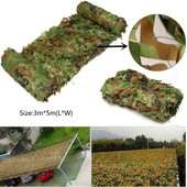 3 X 5m Chasse Camping Jungle For�t Camouflage Filet Camo Arm�e Militaire Soldat