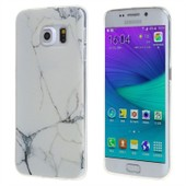 Ivencase Pour Samsung Galaxy S6 Sm-G920f Coque Mode Fa�on Marbre Slim Souple Silicone Tpu Gel Protection Prot�ge