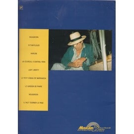 RARE SONGBOOK DE CLAUDE NOUGARO ACCOMPAGNEMENT PIANO 9 TITRES.