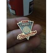 Pins Pin's Champion Creeks