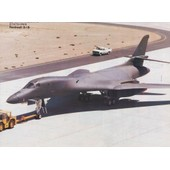 Les Avions D'aujourd'hui, Etats Unis : Rockwell B-1 B (Photo 23 X 29,5 Cm)