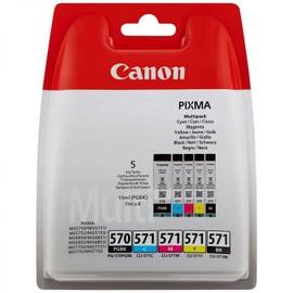 Canon Multipack Pgi-570 Cli571 5 Cartouches