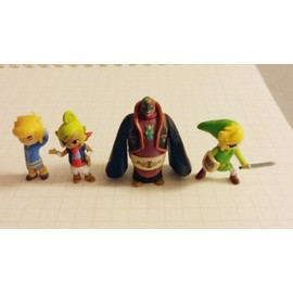 Lot De 4 Figurines Zelda : The Wind Waker - Micro Land