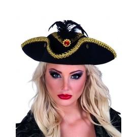 Chapeau Tricorne Pirate Femme,