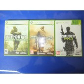 Call Of Duty Modern Warfare Trilogie 1 2 3 Pour Console De Jeu Xbox 360