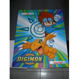 Poster G�ant (51x41cm) Digimon Digital Monsters (Neuf) : Tai + Agumon