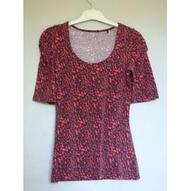 T-Shirt Jennyfer M L�opard Rouge