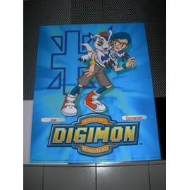 Poster G�ant (51x41cm) Digimon Digital Monsters (Neuf) : Joe + Gomamon